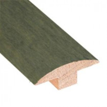Slate 3/4 in. Thick x 2 in. Wide x 78 in. Length Hardwood T-Molding-LM6642 203198226