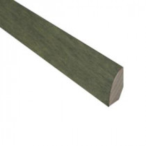 Slate 3/4 in. Thick x 3/4 in. Wide x 78 in. Length Hardwood Quarter Round Molding-LM6644 203198228