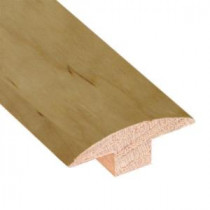 Smoked Maple Natural 3/4 in. Thick x 2 in. Wide x 78 in. Length Hardwood T-Molding-LM6384 202103196