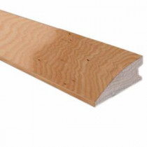 Southern Pecan 3/4 in. Thick x 1-1/2 in. Wide x 78 in. Length Hardwood Flushmount Reducer Molding-LM6623 203198213