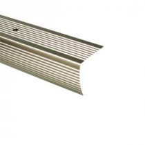 TrafficMASTER 72 in. Pewter Fluted Stair Edging-18526.0 204196583