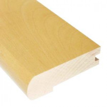 Vintage Maple Natural 0.81 in. Thick x 2-3/4 in. Wide x 78 in. Length Hardwood Flush-Mount Stair Nose Molding-LM6010 202103208
