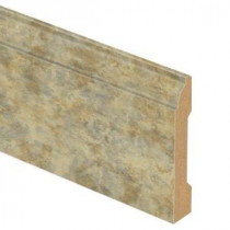 Zamma Aged Terracotta 9/16 in. Thick x 3-1/4 in. Wide x 94 in. Length Laminate Wall Base Molding-013041586 203622567