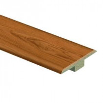 Zamma Alexander Oak 7/16 in. Thick x 1-3/4 in. Wide x 72 in. Length Laminate T-Molding-013221579 203611001