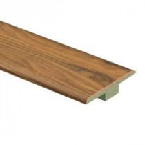 Zamma Alexandria Walnut 7/16 in. Thick x 1-3/4 in. Wide x 72 in. Length Laminate T-Molding-0137221537 204201895
