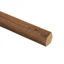 Zamma Allentown Hickory 5/8 in. Thick x 3/4 in. Wide x 94 in. Length Laminate Quarter Round Molding-013141657 205380657