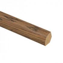 Zamma American Handscraped Oak 5/8 in. Thick x 3/4 in. Wide x 94 in. Length Laminate Quarter Round Molding-013141621 204201899