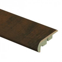 Zamma Antique Cherry 3/4 in. Thick x 2-1/8 in. Wide x 94 in. Length Laminate Stair Nose Molding-0137541817 206981389