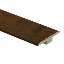 Zamma Antique Cherry 7/16 in. Thick x 1-3/4 in. Wide x 72 in. Length Laminate T-Molding-0137221817 206981377