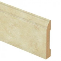 Zamma Antique Linen 9/16 in. Thick x 3-1/4 in. Wide x 94 in. Length Laminate Wall Base Molding-013041585 203622555