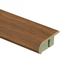Zamma Asheville Hickory 3/4 in. Thick x 2-1/8 in. Wide x 94 in. Length Laminate Stair Nose Molding-0137541540 204201907
