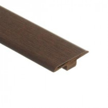 Zamma Blackened Maple 7/16 in. Thick x 1-3/4 in. Wide x 72 in. Length Laminate T-Molding-013221517 203071665