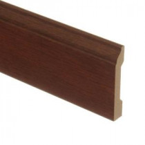 Zamma Blackened Maple 9/16 in. Thick x 3-1/4 in. Wide x 94 in. Length Laminate Wall Base Molding-013041517 203220350
