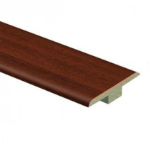 Zamma Brazilian Cherry 7/16 in. Thick x 1-3/4 in. Wide x 72 in. Length Laminate T-Molding-013221647 205019392