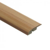 Zamma Brilliant Maple 1/2 in. Thick x 1-3/4 in. Wide x 72 in. Length Laminate Multi-Purpose Reducer Molding-013621514 203071611