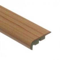 Zamma Brilliant Maple 3/4 in. Thick x 2-1/8 in. Wide x 94 in. Length Laminate Stair Nose Molding-013541514 203204418