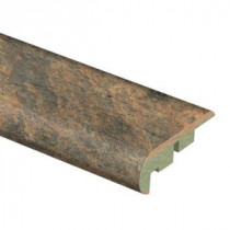Zamma Canyon Slate Clay 3/4 in. Thick x 2-1/8 in. Wide x 94 in. Length Laminate Stair Nose Molding-013541594 203622592