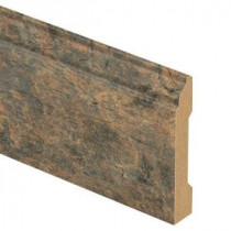 Zamma Canyon Slate Clay 9/16 in. Thick x 3-1/4 in. Wide x 94 in. Length Laminate Wall Base Molding-013041594 203622593