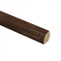 Zamma Cinnabar Oak 5/8 in. Thick x 3/4 in. Wide x 94 in. Length Laminate Quarter Round Molding-013141818 206955331
