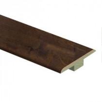 Zamma Cinnabar Oak 9/16 in. Thick x 1-3/4 in. Wide x 72 in. Length Laminate T-Molding-013221818 206955332
