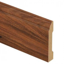 Zamma Claret Jatoba 9/16 in. Thick x 3-1/4 in. Wide x 94 in. Length Laminate Wall Base Molding-013041604 203622613