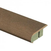 Zamma Country Oak Sundown 3/4 in. Thick x 2-1/8 in. Wide x 94 in. Length Laminate Stair Nose Molding-0137541596 203622596