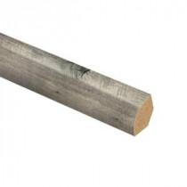 Zamma Cross Sawn Oak Grey 3/4 in. Thick x 5/8 in. Wide x 94 in. Length Laminate Quarter Round Molding-013141763 206056021