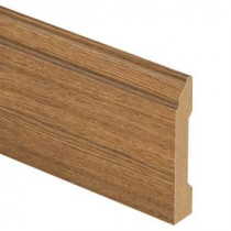 Zamma Eagle Peak Hickory 9/16 in. Thick x 3-1/4 in. Wide x 94 in. Length Laminate Wall Base Molding-013041555 203640210