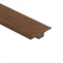 Zamma Galena Oak 7/16 in. Height x 1-3/4 in. Wide x 72 in Length Laminate T-Molding-013221513 203071597