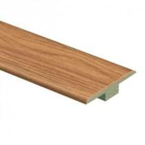 Zamma Glenwood Oak 7/16 in. Height x 1-3/4 in. Wide x 72 in. Length Laminate T-Molding-013221634 204491123
