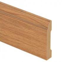 Zamma Glenwood Oak 9/16 in. Thick x 3-1/4 in. Wide x 94 in. Length Laminate Wall Base Molding-013041634 204491136