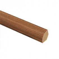 Zamma Golden Tigerwood 5/8 in. Thick x 3/4 in. Wide x 94 in. Length Laminate Quarter Round Molding-013141642 204691685