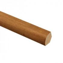 Zamma Gunstock Oak 3/4 in. Thick x 5/8 in. Wide x 94 in. Length Laminate Quarter Round Molding-013141759 205977822