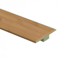 Zamma Hayside Bamboo 7/16 in. Thick x 1-3/4 in. Wide x 72 in. Length Laminate T-Molding-013221561 203610916