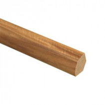 Zamma Highland Hickory 5/8 in. Thick x 3/4 in. Wide x 94 in. Length Laminate Quarter Round Molding-013141538 204201977