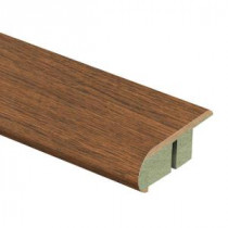 Zamma Homestead Oak 3/4 in. Thick x 2-1/8 in. Wide x 94 in. Length Laminate Stair Nose Molding-0137541638 204691617