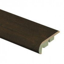 Zamma Java Scraped Oak 3/4 in. Thick x 2-1/8 in. Wide x 94 in. Length Laminate Stair Nose Molding-0137541812 206955251