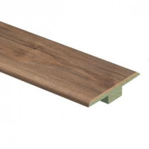 Zamma Lakeshore Pecan 7/16 in. Thick x 1-3/4 in. Wide x 72 in. Length Laminate T-Molding-013221654 205320433