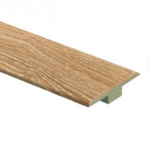Zamma Limed Oak 7/16 in. Thick x 1-3/4 in. Wide x 72 in. Length Laminate T-Molding-0137221722 205917621