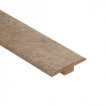 Zamma Lissine Travertine 7/16 in. Thick x 1-3/4 in. Wide x 72 in. Length Laminate T-Molding-013221529 203071956