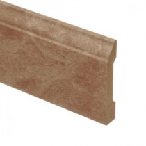 Zamma Lissine Travertine 9/16 in. Thick x 3-1/4 in. Wide x 94 in. Length Laminate Wall Base Molding-013041529 203220363