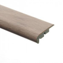 Zamma Maui Whitewashed Oak 3/4 in. Thick x 2-1/8 in. Wide x 94 in. Length Laminate Stair Nose Molding-013541593 203622590