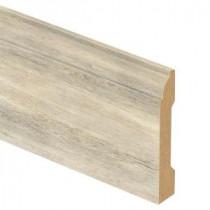 Zamma Maui Whitewashed Oak 9/16 in. Thick x 3-1/4 in. Wide x 94 in. Length Laminate Wall Base Molding-013041593 203622591