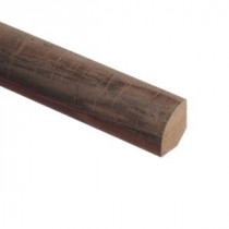 Zamma Mineral Wood 5/8 in. Thick x 3/4 in. Wide x 94 in. Length Laminate Quarter Round Molding-013141592 203611040