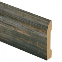 Zamma Mineral Wood 9/16 in. Thick x 3-1/4 in. Wide x 94 in. Length Laminate Wall Base Molding-013041592 203622589