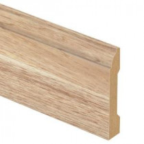 Zamma Natural Hickory 9/16 in. Thick x 3-1/4 in. Wide x 94 in. Length Laminate Wall Base Molding-013041735 205801251