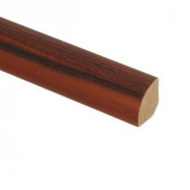 Zamma Redmond African Wood 5/8 in. Thick x 3/4 in. Wide x 94 in. Length Laminate Quarter Round Molding-013141567 203610953