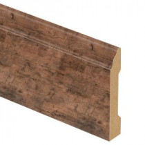 Zamma Rustic Grey Oak 9/16 in. Thick x 3-1/4 in. Wide x 94 in. Length Laminate Base Molding-013041796 206441725