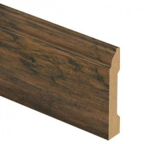 Zamma Saratoga Hickory 9/16 in. Thick x 3-1/4 in. Wide x 94 in. Length Laminate Wall Base Molding-013041608 203640214