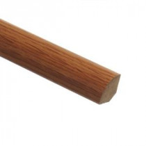 Zamma Saybrook Oak 5/8 in. Thick x 3/4 in. Wide x 94 in. Length Laminate Quarter Round Molding-013141515 203071614